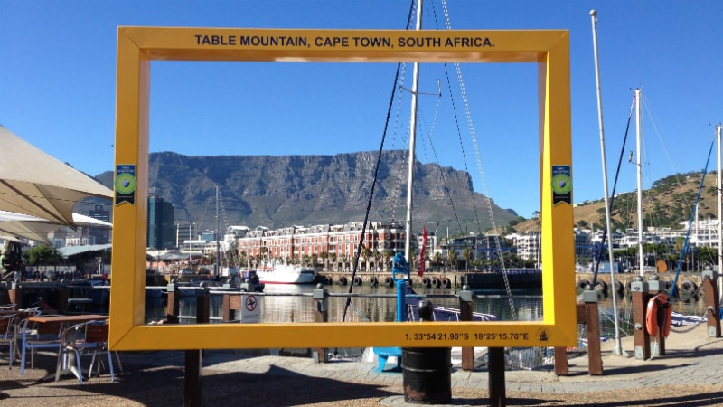 Table Mountain as seen from the V&A Waterfront