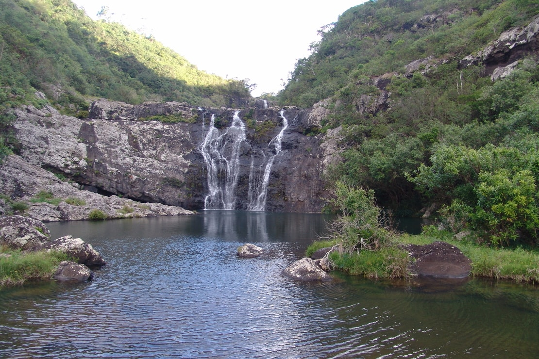 Tamarin Falls is one of Mauritius' many natural attractions