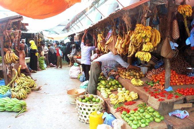 A local market in Stone Town  I  Credit: Pinterest