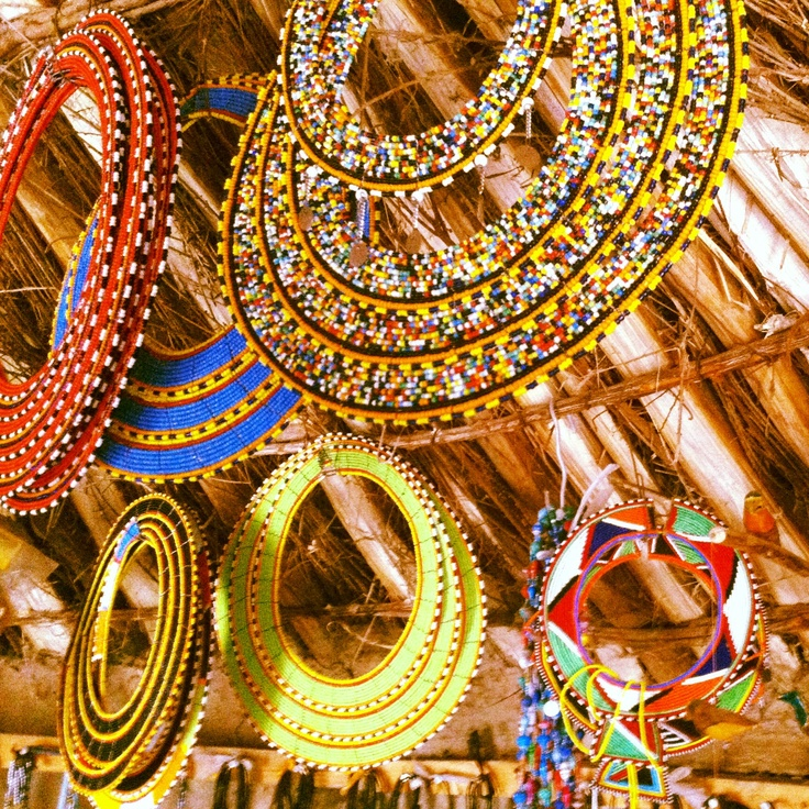 Buy traditional Tanazanian attire from local markets  I  Credit: Pinterest