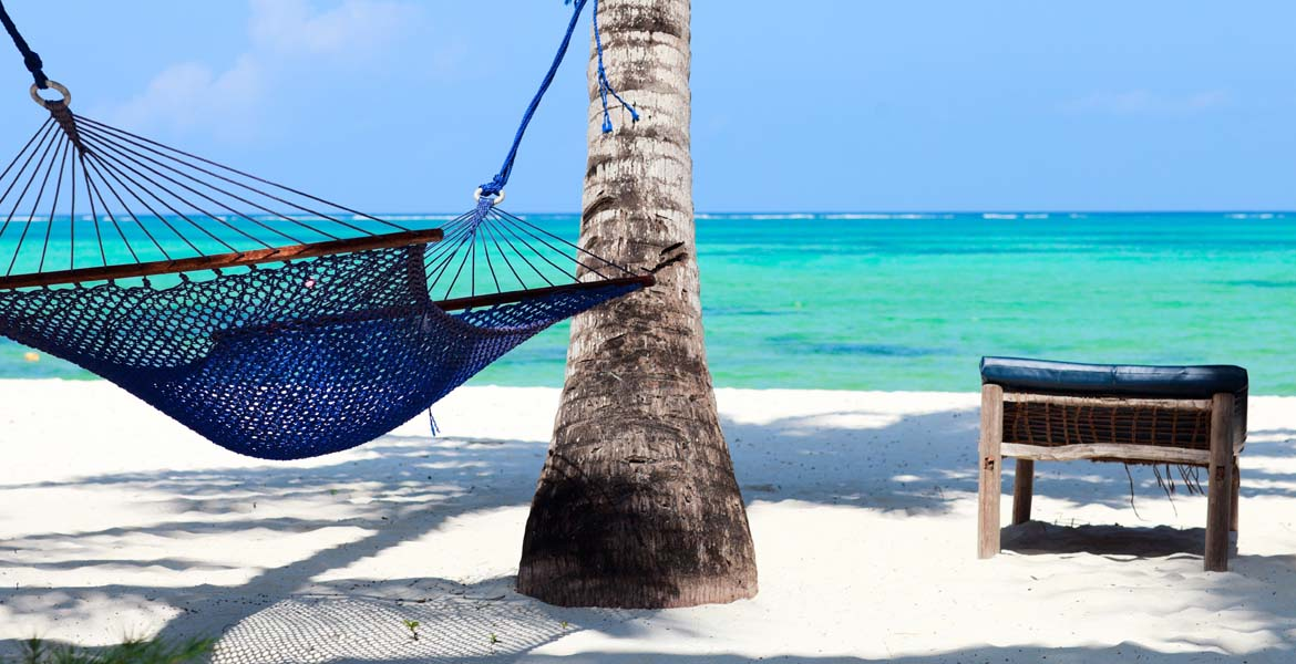 Relaxing on one of Tanzania's idyllic beaches is as easy as it gets