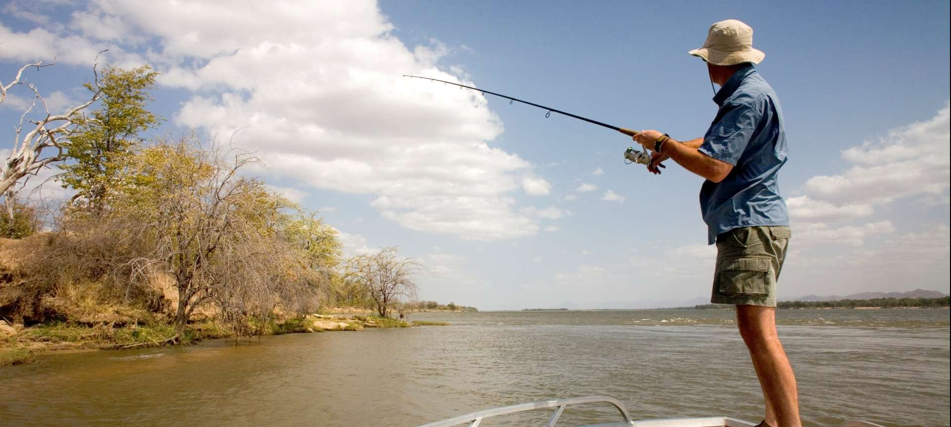 Anglers will love the fishing safaris on offer