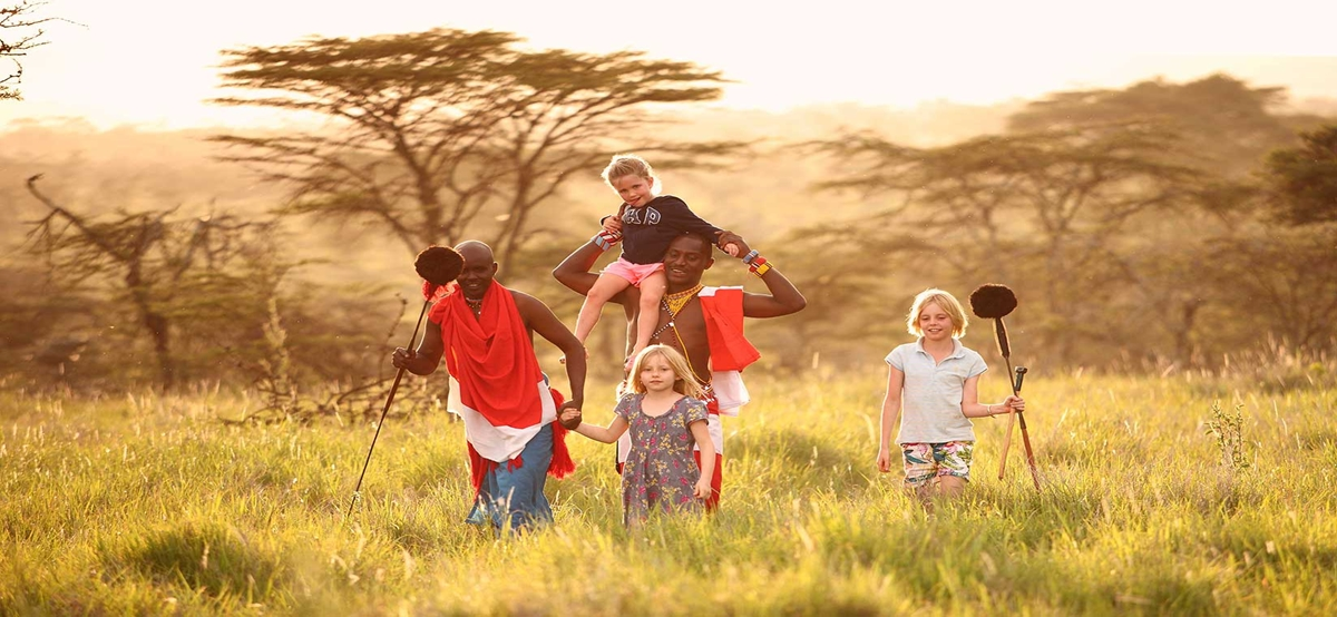 Experiencing Tanzania through the eyes of a child I Credit: Tanzania Safari Supremecy