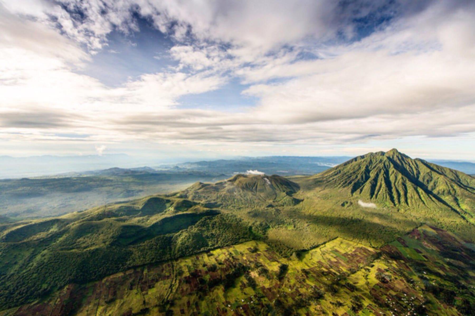 virunga mountain range