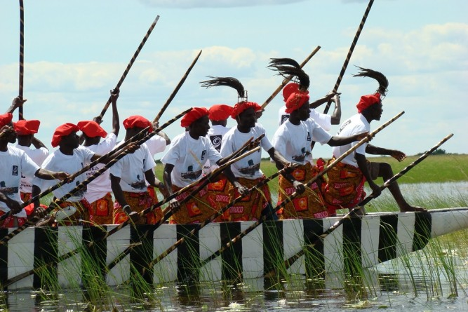 Early in April, or late March, the annual Kuomboka Ceremony takes place in Zambia's Western Province, credit: Getaway.co.za