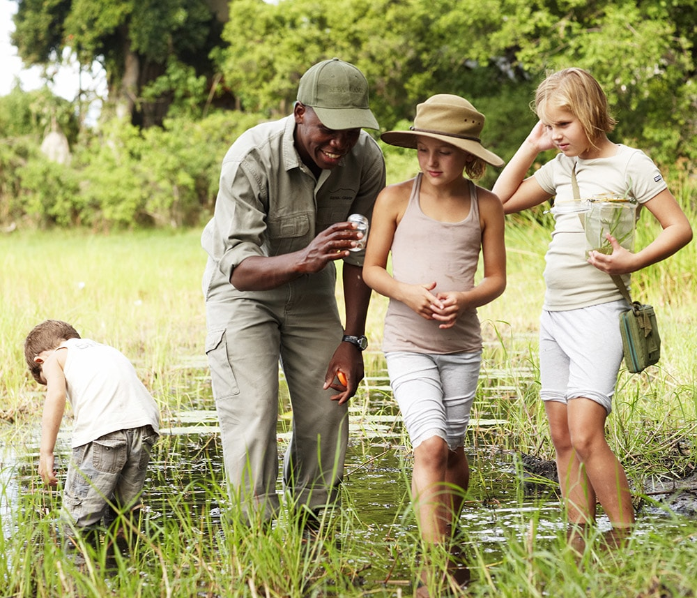 Children can get close to nature and learn while having fun